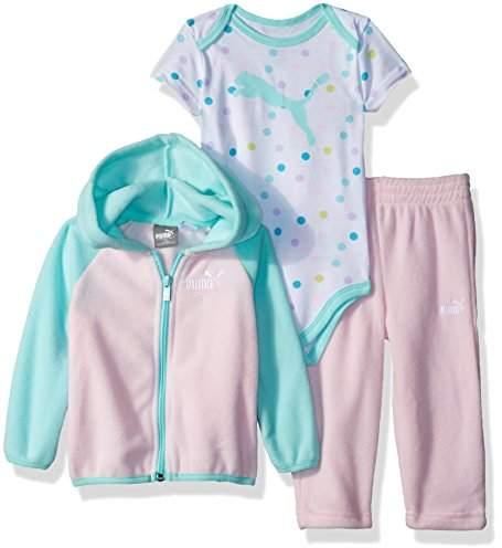 8fd24d117cecc Baby Girl's Girls' Three Piece Micro Fleece Set Sweater