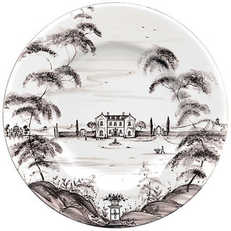 Juliska Country Estate Dinner Plate - White/Black