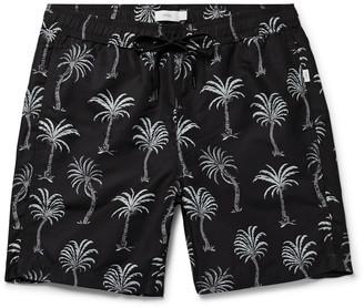Onia Charles Long-Length Printed Swim Shorts