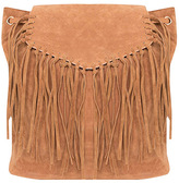 Missy Empire Harper Tan Tassel Fringe Backpack