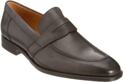 Barneys New York Apron Toe Penny Loafer