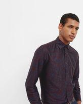 ORNATE Jacquard design cotton shirt