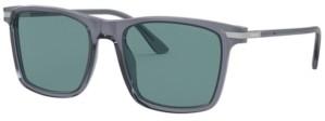 Prada Men's Polarized Sunglasses, 0PR 19XS