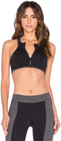 So Low SOLOW Zipped Sports Bra