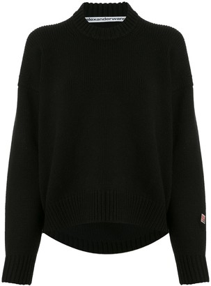 Alexander Wang Sleeve Patch Knitted Jumper