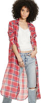 Denim & Supply Ralph Lauren Plaid Wool-Cotton Tunic