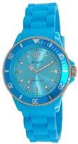 Jet Set 18314-25 Addiction 2-J Women's Watch Analogue Quartz Dial Rubber Turquoise, Turquoise