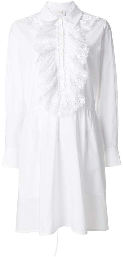 Chloé ruffled cotton day dress