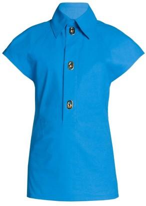 Bottega Veneta Coated Toile Shirt