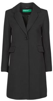 Benetton 2AMH5K2R5 women's Coat in Black