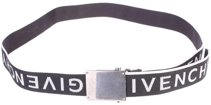 Givenchy Black Branded Belt