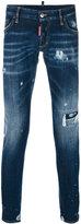 DSQUARED2 distressed Long Clement jeans - men - Cotton/Spandex/Elastane - 46