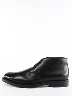 Tod's Tods Desert Boots Black