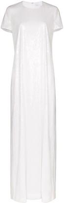 Rosetta Getty Sequinned Maxi Dress