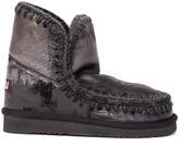 Mou Eskimo 18 Metallic Leather Ankle Boot