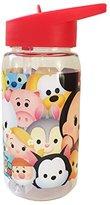 Disney Tsum Tritan Bottle, Plastic, Multi-Colour, 450 ml