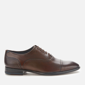 Ted Baker Men's Circass Leather Toe Cap Oxford Shoes - Brown