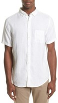 Onia Men's Jack Linen Sport Shirt