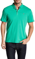 English Laundry Solid Short Sleeve Polo