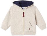 Petit Bateau Baby boys zippered sweatshirt