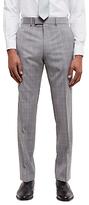 Jaeger Super 100s Wool Regular Fit Suit Trousers, Grey
