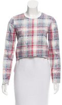 Nicholas Silk Plaid Top w/ Tags