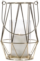 "Home Essentials Asele 9"" Gold-Tone Wire Lantern"