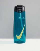 Nike Training Nike Just Do It Flow Water Bottle In Green