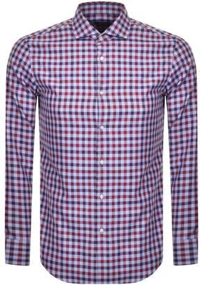 HUGO BOSS Boss Business Slim Fit Jason Shirt Red
