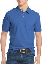 Izod Short-Sleeve Solid Chatham Pocket Polo Shirt