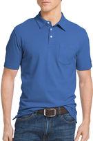 Izod Short-Sleeve Solid Chatham Pocket Polo Shirt