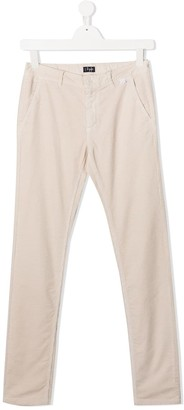Il Gufo TEEN corduroy straight-leg trousers
