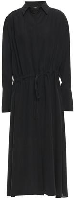 Joseph Washed-silk Midi Shirt Dress