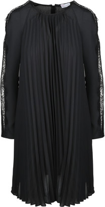 RED Valentino Georgette And Lace Dress