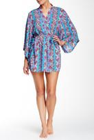 Josie Print Woven Happi Robe