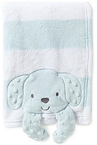 Starting Out Baby Boys Puppy Buddy Blanket
