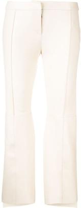 Alexander McQueen Asymmetric Cropped Trousers