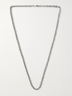 Good Art Hlywd Pequeno A Mano Sterling Silver Chain Necklace