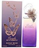Hanae Mori PURPLE BUTTERFLY by ~ Women's Eau de Parfum Spray 3.4 oz