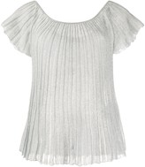 Missoni pleated boat neck T-shirt