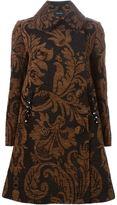 Simone Rocha floral jacquard coat