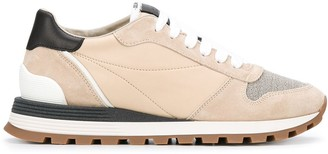 Brunello Cucinelli Ball-Chain Detail Sneakers