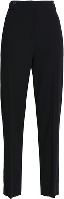 Rag & Bone Dagger Satin-trimmed Crepe Tapered Pants