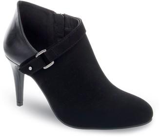 Ellen Tracy Eddie Women's Asymmetrical Heeled Ankle Boots