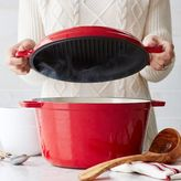Sur La Table Cast Iron Casserole With Grill Pan Lid, 8 qt.