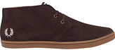 Fred Perry Byron Mid-ankle Boot, Dark Chocolate