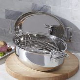 Crate & Barrel Viking 3-in-1 Oval Roaster