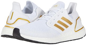 adidas Ultraboost 20 (Footwear White/Gold Metallic/Crystal White) Men's Running Shoes