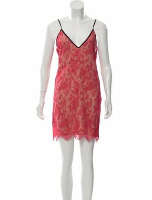 Gucci Lace Mini Dress w/ Tags Pink