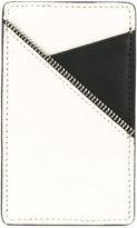 South Lane white black cardholder